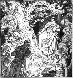 Sigmunds Schwert (1889) by Johannes Gehrts