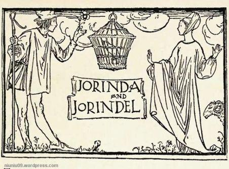 Jorinda & Joringel Robert Anning Bell