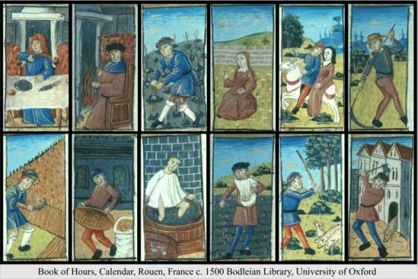 Twelve Huntsmen Book or Hours