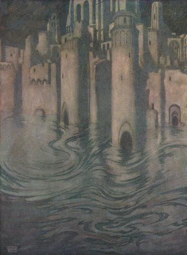 edmund-dulac-the-city-in-the-sea-1912