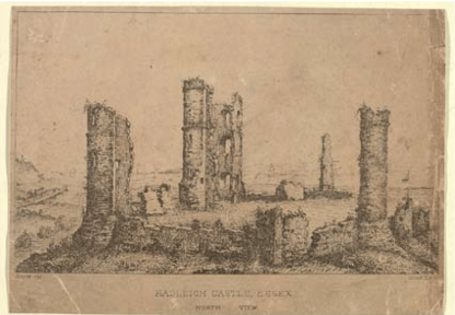 EngraHadleigh-Castle-by-an-unknown-artist-1735