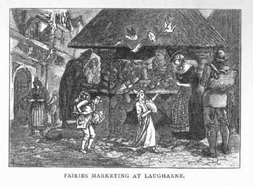 Fairy harp Fairies at Market