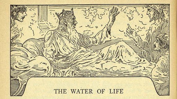 Water of Life Louis Rhead king