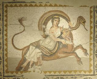 Red Cow_mosaic_abduction_europa