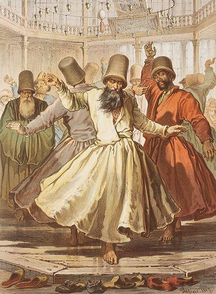 kerchief whirling-dervishes